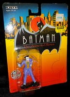 Batman The Animated Series: Die-Cast Metal Figure: The Joker - Sealed on Card